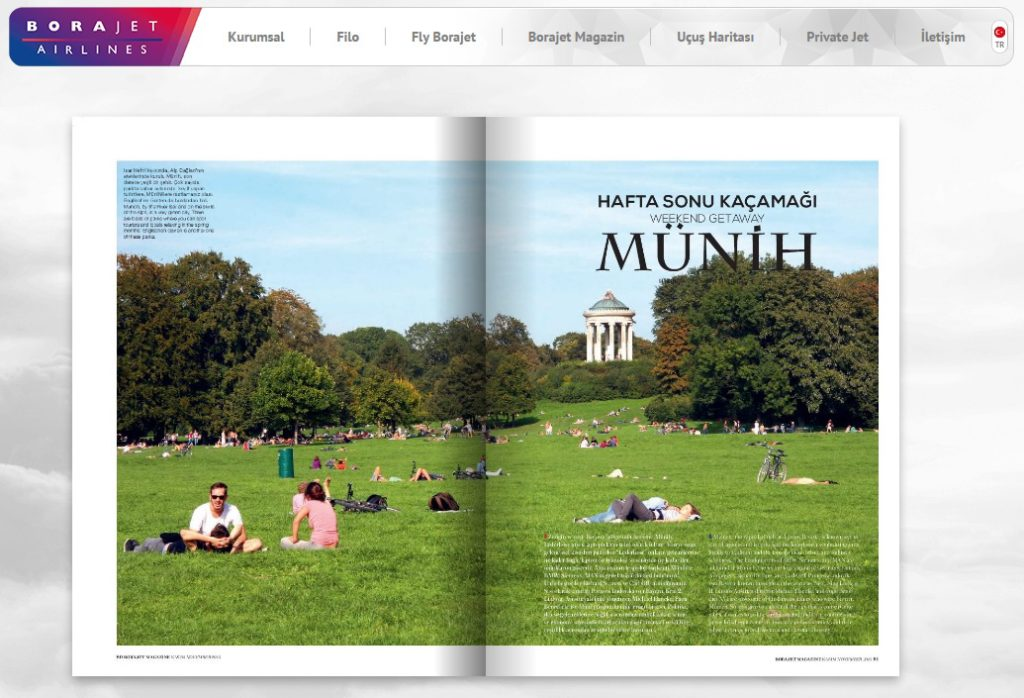 Munich Article-Borajet Magazine