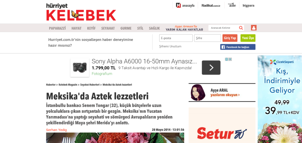 Hürriyet Travel (Turkish)