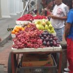 Fruit Seller in Cartagena
