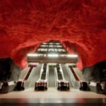 A Metro Station of Stockholm