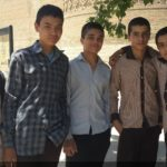 Some young Iranian boys