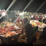 The fruit stalls