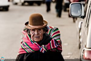 Aymara Woman with a Bowler Hat